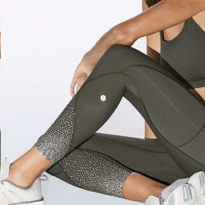 Lululemon Tight Stuff Tight II in Dark Olive